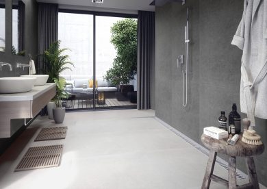 Bestone dark grey - Concrete, Terrace and balcony