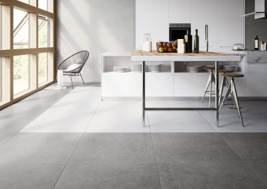 Bestone white lappato - Concrete, Kitchen