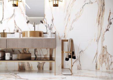 Calacatta gold poler - Wall tiles, Floor tiles