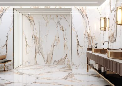 Calacatta gold polished - Wall tiles, Floor tiles