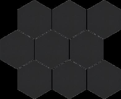 Cambia black lappato heksagon - 11