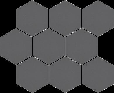 Cambia grafit lappato heksagon - 11
