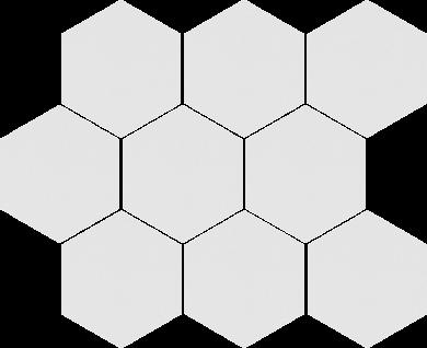 Cambia white lappato heksagon - 11