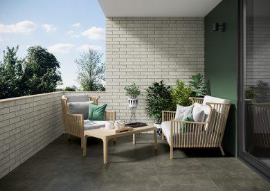 Macro grafit - Floor tiles, Wall tiles