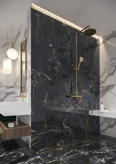 Marquina gold poler - Wall tiles, Floor tiles