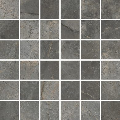 Masterstone Graphite mosaic polished - 12