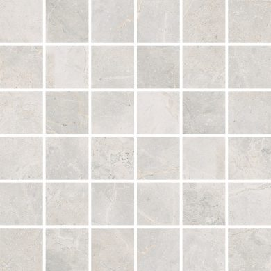 Masterstone White mosaic polished - 12