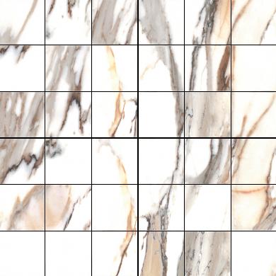 Calacatta gold poler - Mosaic