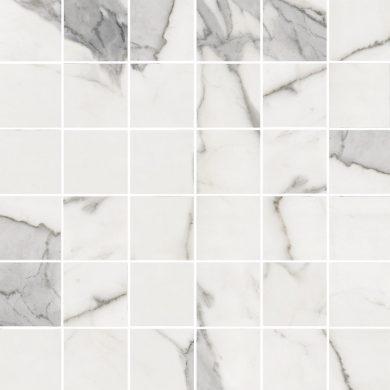 Calacatta white polished - Mosaic