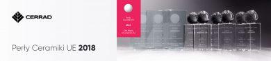 Design wart nagrody! Kolekcje Cerrad wyróżnione tytułem Perły Ceramiki UE 2018