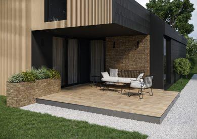 Rapid brown - Wall tiles