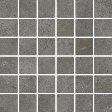 Softcement graphite mosaic polished - 12