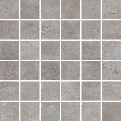Softcement silver mosaic polished - 12
