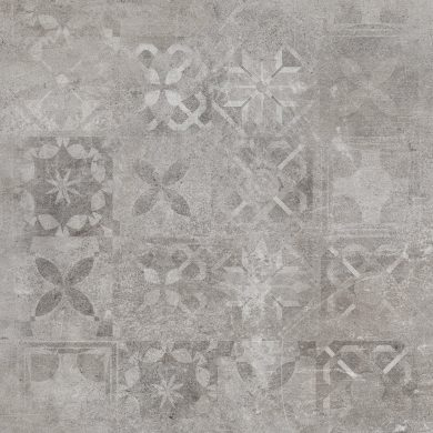 Softcement silver patchwork polished - 24