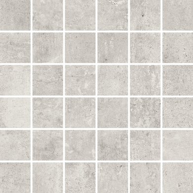 Softcement white mosaic polished - 12