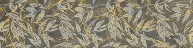 Softcement graphite flower - 12
