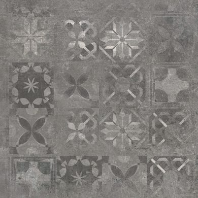 Softcement graphite patchwork - 24