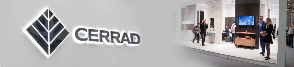 Cerrad at the Cersaie fairs in Bologna, Italy