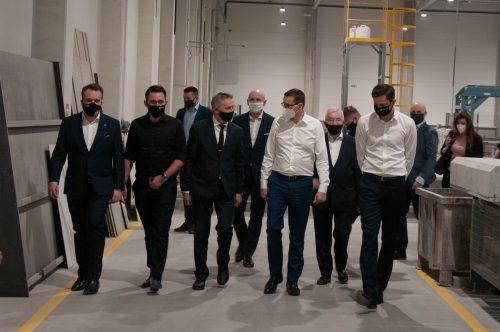 Wizyta Premiera Morawieckiego w firmie
